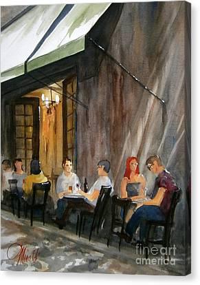 Dinning L'fresco Canvas Print
