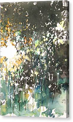 Diptych No.11 Right Canvas Print
