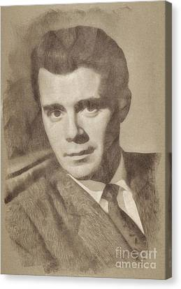 Dirk Bogarde, Vintage Actor By John Springfield Canvas Print