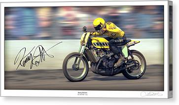 Dirt Speed Canvas Print by Lar Matre