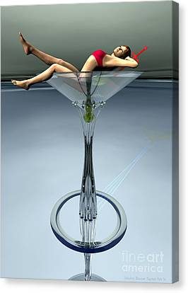 Dirty Martini Canvas Print