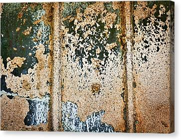 Canvas Print featuring the photograph Dirty Window Abstract by Stuart Litoff