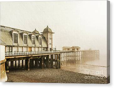 Disa Pier Ing Canvas Print by Steve Purnell