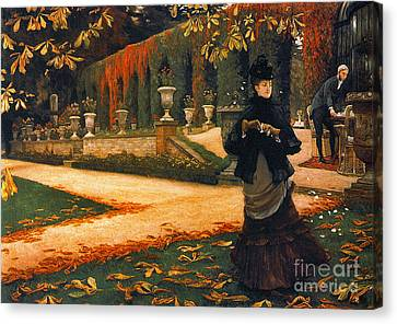 Disagreeable Letter 1876 Canvas Print by Padre Art