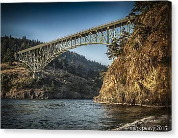 Disappointment Bridge Canvas Print