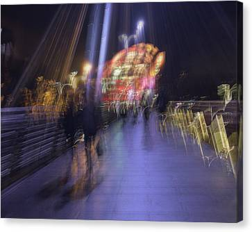 Canvas Print featuring the photograph Disassembly by Alex Lapidus