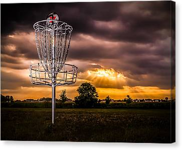 Disc Golf Anyone? Canvas Print