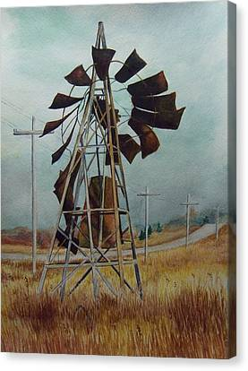 Discarded Along The Road Canvas Print by Marcus Moller
