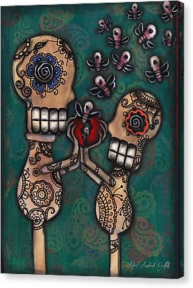 Discover Canvas Print by  Abril Andrade Griffith