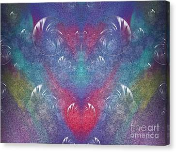Hidden Canvas Print - Discover The Laughter Within by Roxy Riou
