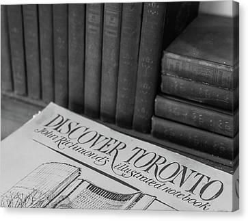 Discover Toronto Canvas Print