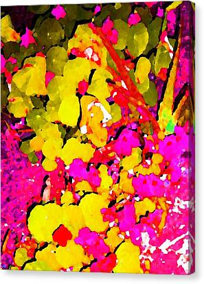 Canvas Print featuring the digital art Discovering Joy by Winsome Gunning
