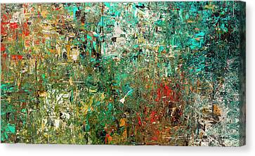 Discovery - Abstract Art Canvas Print