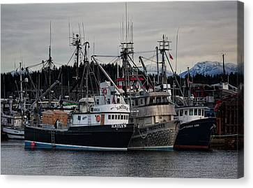 Canvas Print featuring the photograph Discovery Harbour by Randy Hall
