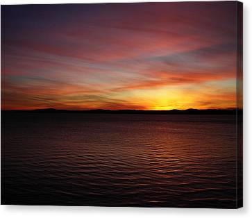 Discovery Park Sunset 6 Canvas Print