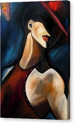 Discreet By Thomas Fedro Canvas Print by Tom Fedro - Fidostudio