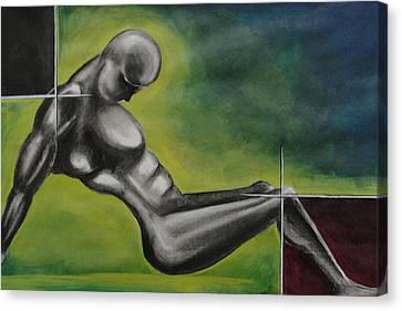 Disected Canvas Print by Mrutyunjaya Dash
