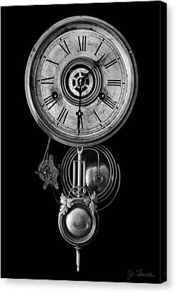 Disembodied Time Canvas Print by Joe Bonita