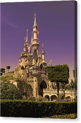 Disney Castle Paris Canvas Print