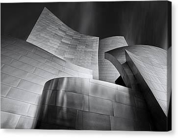 Hall Canvas Print - Disney Music Hall by Steve Buffington