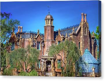Disney World Haunted Mansion  Canvas Print