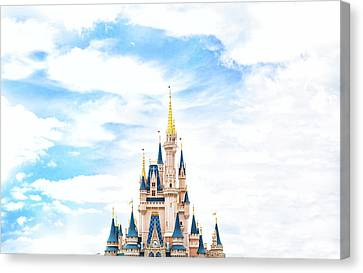 Disneyland Canvas Print by Happy Home Artistry