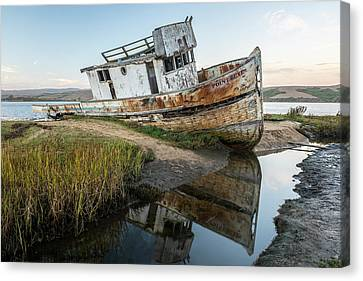 Disrepair In Point Repair Canvas Print by Jon Glaser