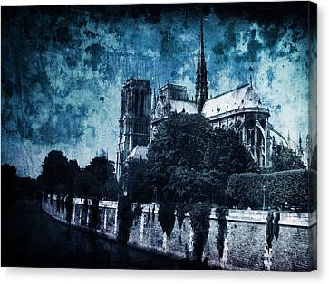 Dissipating Rapture Canvas Print by Andrew Paranavitana