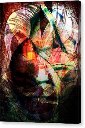 Dissolution 16 Canvas Print