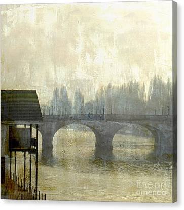 Canvas Print featuring the photograph Dissolving Mist by LemonArt Photography