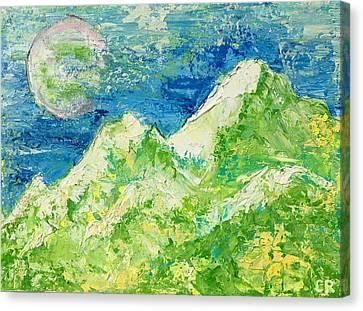Distant Longings Canvas Print