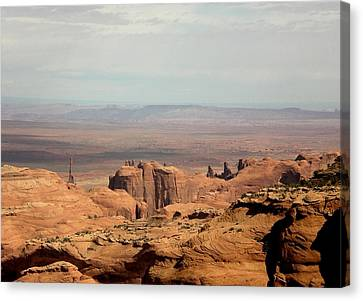 Distant Mesa Canvas Print by Fred Wilson