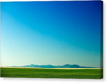 Distant Mountains Canvas Print by Todd Klassy