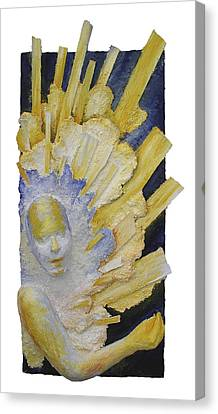 Distant Sharing II - Received Canvas Print by Rosemary Wessel