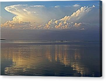 Distant Thunder Canvas Print by HH Photography of Florida