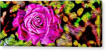 Artistic Canvas Print - Distorted Romance by Az Jackson
