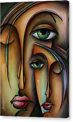 Ditto Canvas Print by Michael Lang