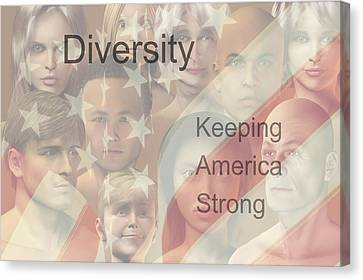 Diversity Canvas Print - Diversity by Carol and Mike Werner