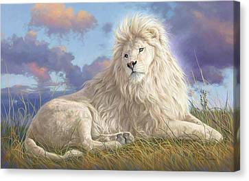 Divine Beauty Canvas Print by Lucie Bilodeau