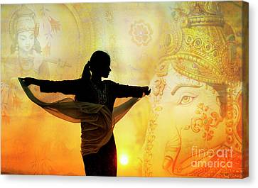 Canvas Print featuring the photograph Divine Dance by Tim Gainey