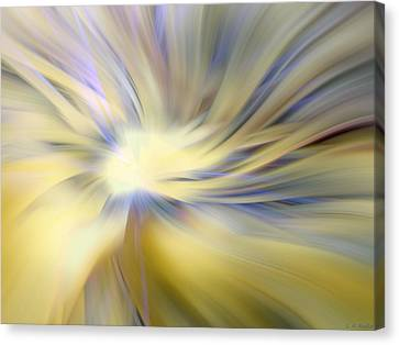 Divine Energy Canvas Print by Lauren Radke