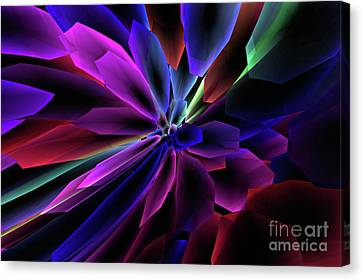 Canvas Print featuring the digital art Divine Intervention by Margie Chapman
