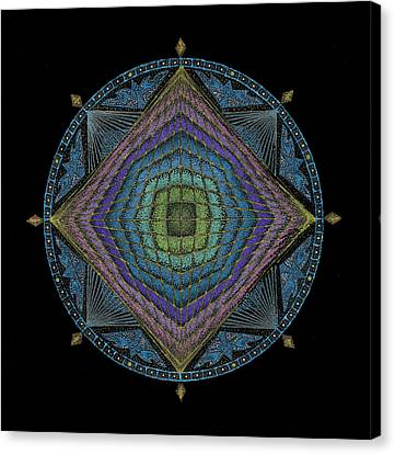 Divine Masculine Energy Canvas Print