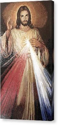 Divine Mercy 5 Canvas Print by Mai Nhon