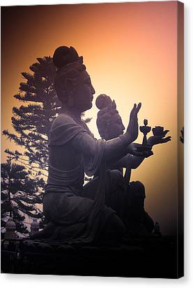 Divine Offering #01 Canvas Print