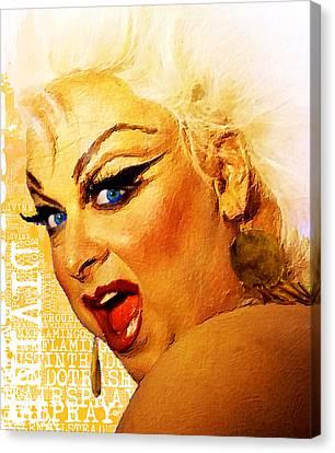 Polyester-film Canvas Print - Divine by Tony Rubino