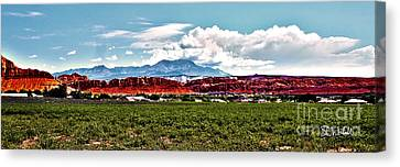 Dixie Red Rocks Canvas Print