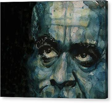 Dizzy Gillespie Canvas Print by Paul Lovering