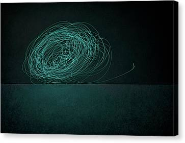 Dizzy Moon Canvas Print by Scott Norris