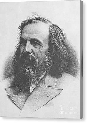 Dmitri Mendeleev, Russian Chemist Canvas Print by Science Source